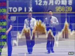 Market traders, Tokyo