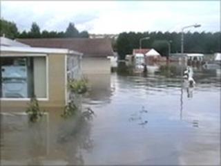 Flooding in Barnsley