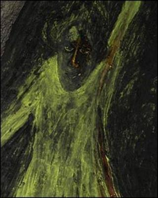 Figure in Yellow by Rabindranath Tagore