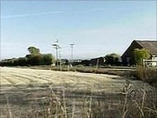 Proposed site near Abingdon
