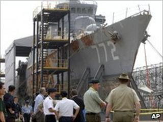 Cheonan warship, 11/06