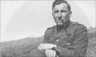 Reg Newman in 1941 during World War II