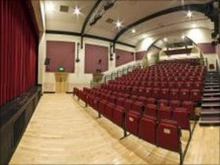 Festival Drayton Centre auditorium, photo supplied by the Festival Drayton Centre