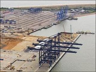 New deep water container terminal