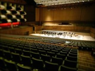 Royal Festival Hall auditorium