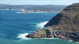 Newfoundland coastline near St John's