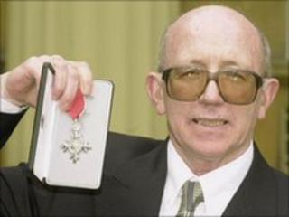 Nobby Stiles, pictured in 2000