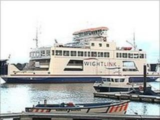 New Lymington to Yarmouth Wightlink ferry