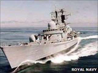 HMS Manchester - Royal Navy