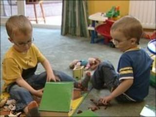 Twins Aaron and Todd Mock