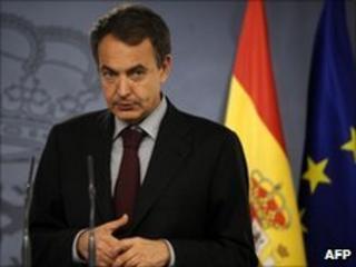 "Spain""s Prime Minister Jose Luis Rodriguez Zapatero"