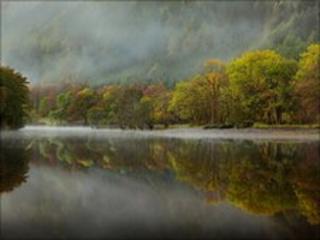 Loch Lubnaig. Photo by Graham Harris Graham