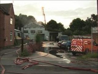 Ripley factory fire