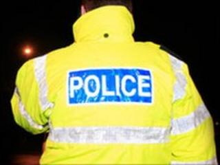 A man has been robbed at gunpoint in Londonderry.