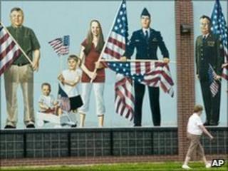 Mural in Fremont, Nebraska on 19/6/2010