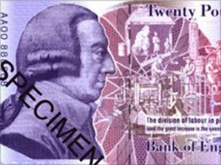 Speciman £20 note