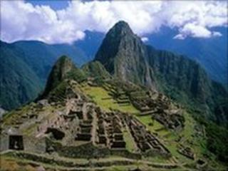 Ruins of the Inca city of Machu Picchu (file image)