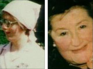 Clare Letchford (left) and Beryl O'Connor (right)