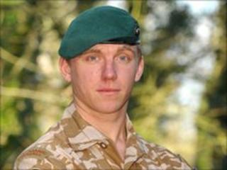Marine Richard Hollington