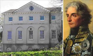 Foley House in Haverfordwest and Lord Nelson