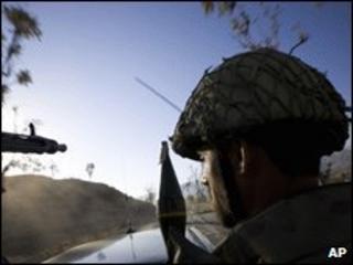 Pakistani soldier, 27 November, 2008