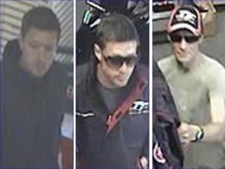 Three men Isle of Man police want to speak to in relation to a burglary