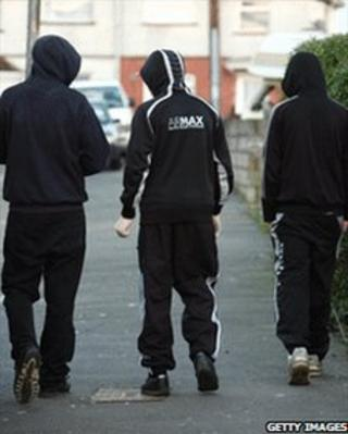 Teenage hoodies in Bristol