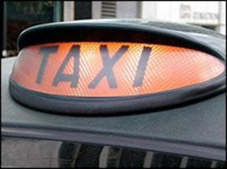 Taxi sign (generic)