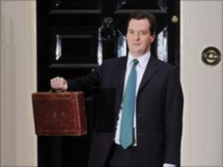 Osborne delivering Budget