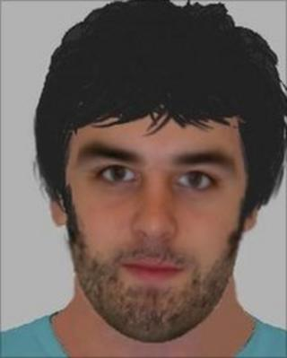 E-fit of the man police want to question