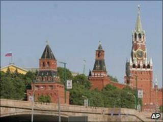 Kremlin towers