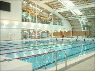 Council pledge on free swimming in corby bbc news for Corby international swimming pool