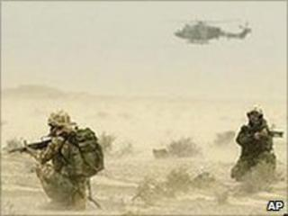 Air assault in action