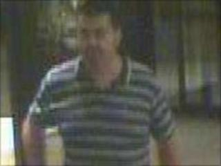 CCTV image of a man police want to talk this man