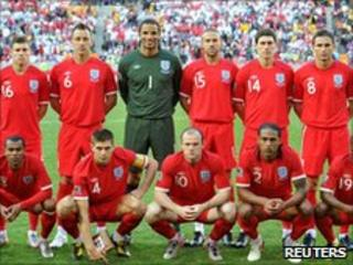 English football team