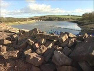 Ulley dam repairs