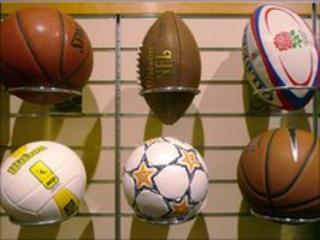 A selection of balls