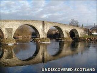 Stirling Old Bridge. Pic: Undiscovered Scotland