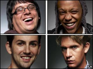Dave, Govan, Ben and Mario