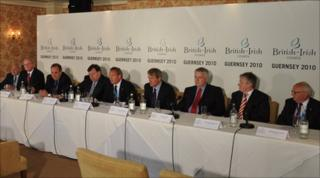 British-Irish Council summit in Guernsey in June 2010