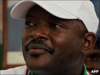 Burundi's incumbent President Pierre Nkurunziza