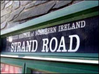 Strand Road police station