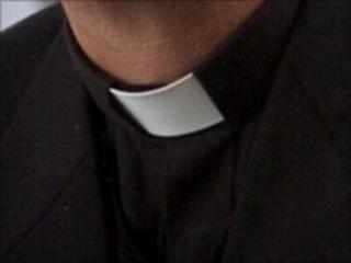 Vicar's dog collar