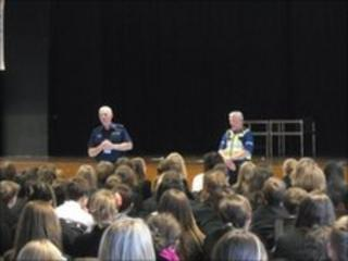 Lancashire Police at Lytham St Annes High School