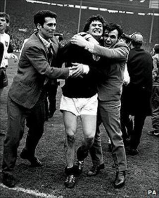 Jim Baxter, after England v Scotland in 1967