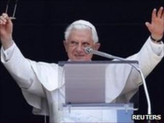 Pope Benedict. Photo: 27 June 2010