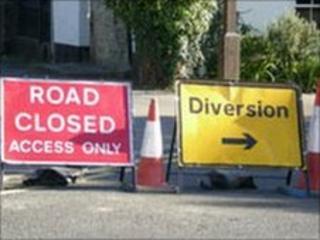 Road closure (generic)