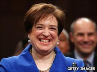 Ms Kagan in front of the Senate Judiciary Committee