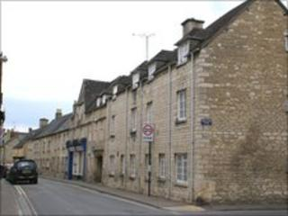 Barton Court in Cirencester
