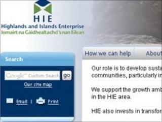 HIE website